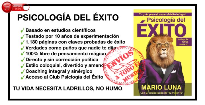 Mario Luna, autor de Psicología del Éxito
